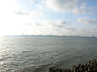 Panoramic view of Marine Drive