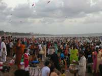 Maha kumbh at Juhu