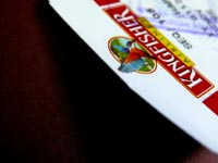 Vijay Mallya's choice - An image of the stub of a Kingfisher airlines boadring pass