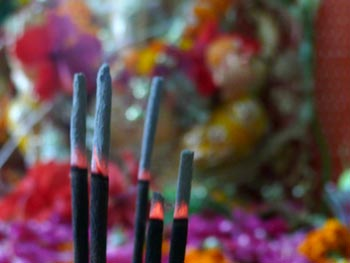Ganpati and Incense
