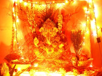 Glow of Ganpati